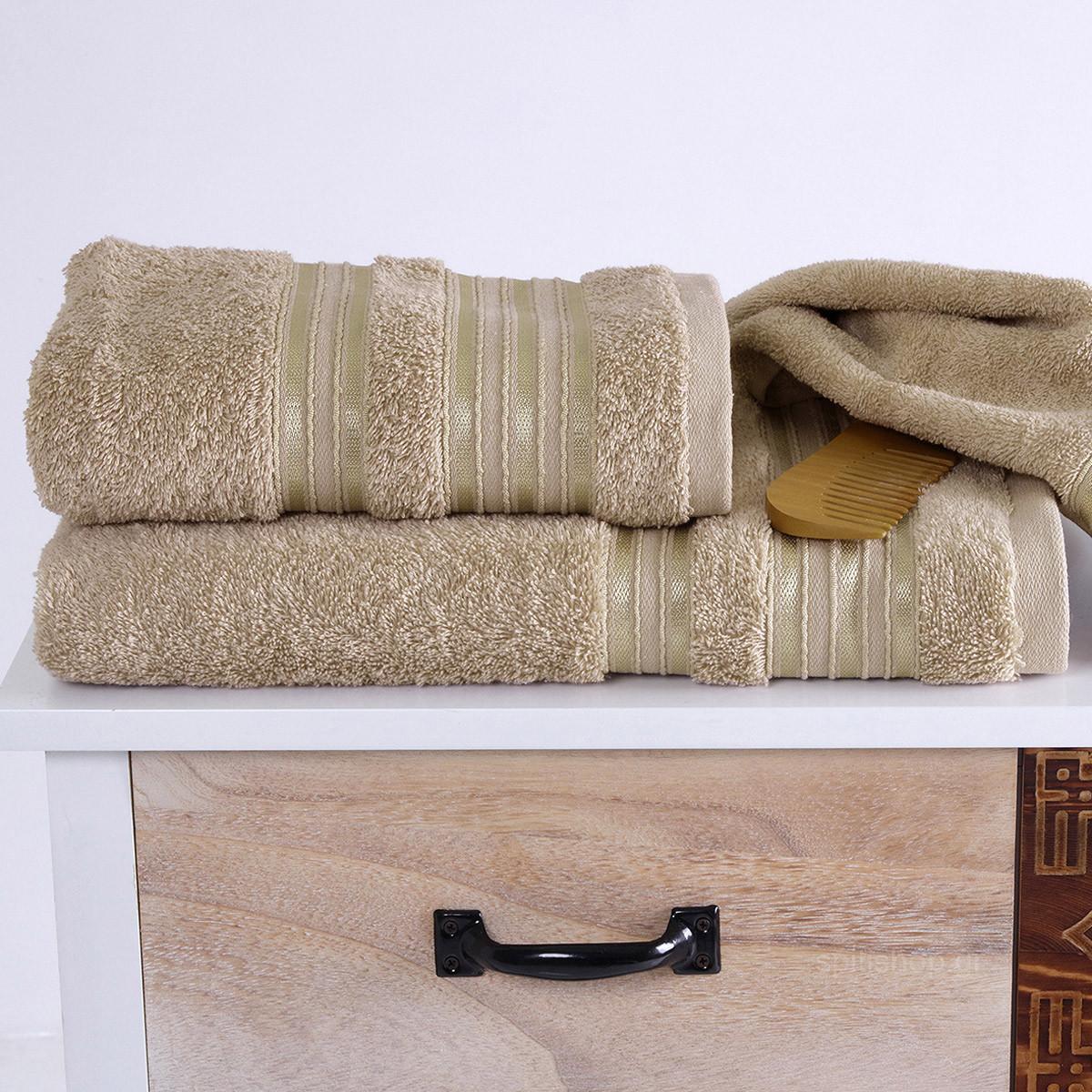 Πετσέτα Σώματος (70×140) Sb Home Classic Beige