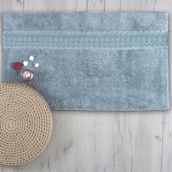 Πατάκι Μπάνιου (50x90) Sb Home Lace Blue