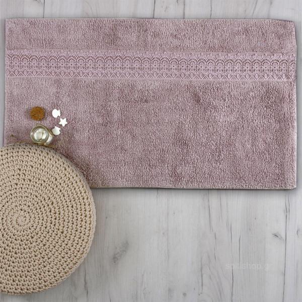Πατάκι Μπάνιου (50x90) Sb Home Lace Lilac