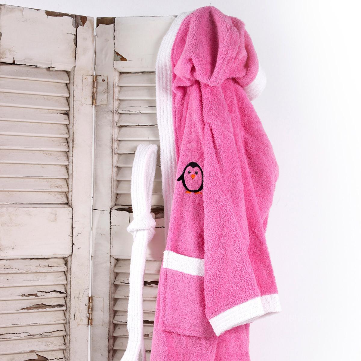 Παιδικό Μπουρνούζι Sb Home Icey Pink No10-12 No10-12