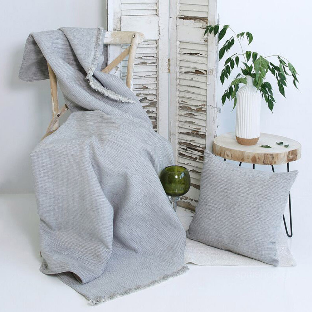 Ριχτάρι Πολυθρόνας (180×150) Sb Home York Grey