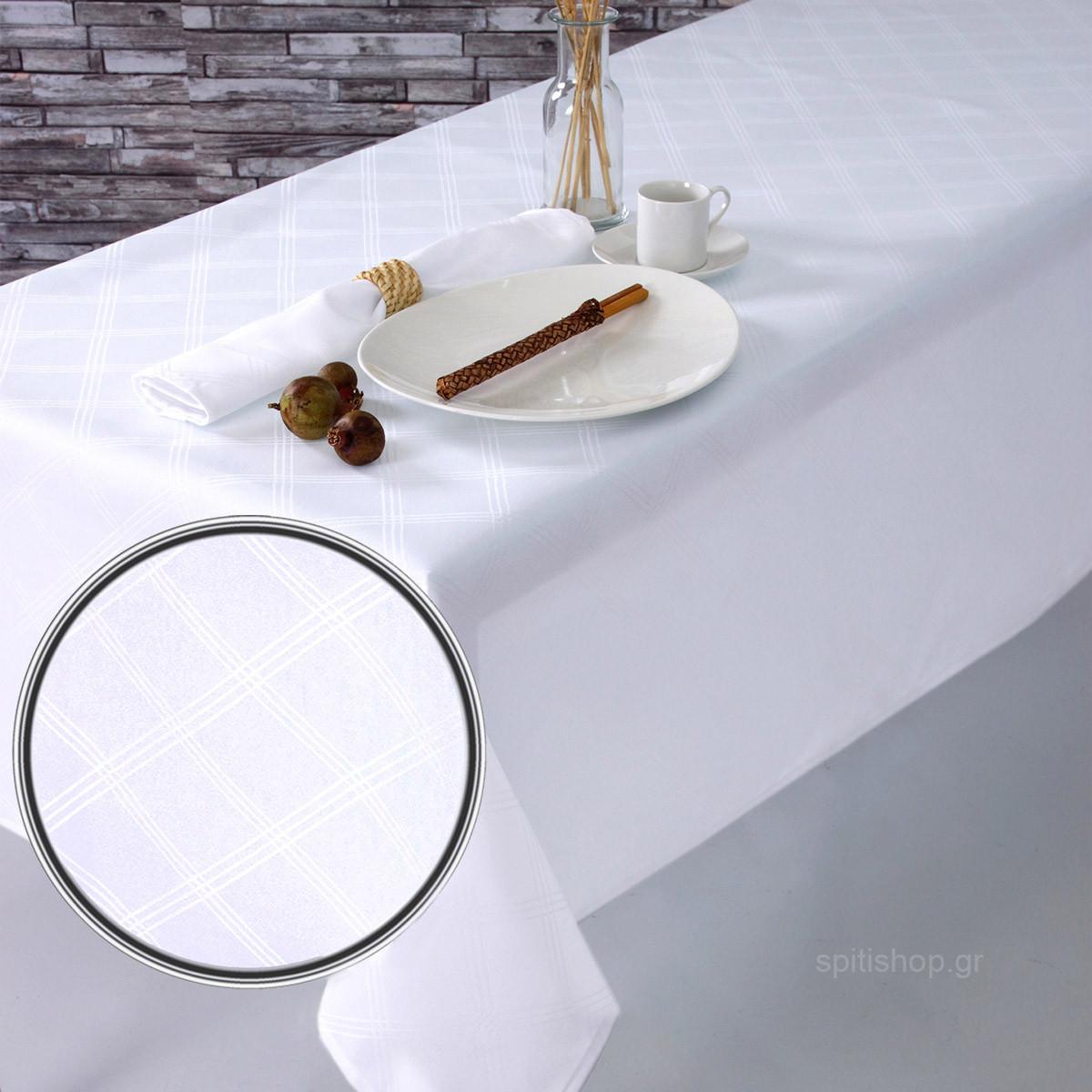 Πετσέτες Φαγητού (Σετ 2τμχ) Sb Home Dine White