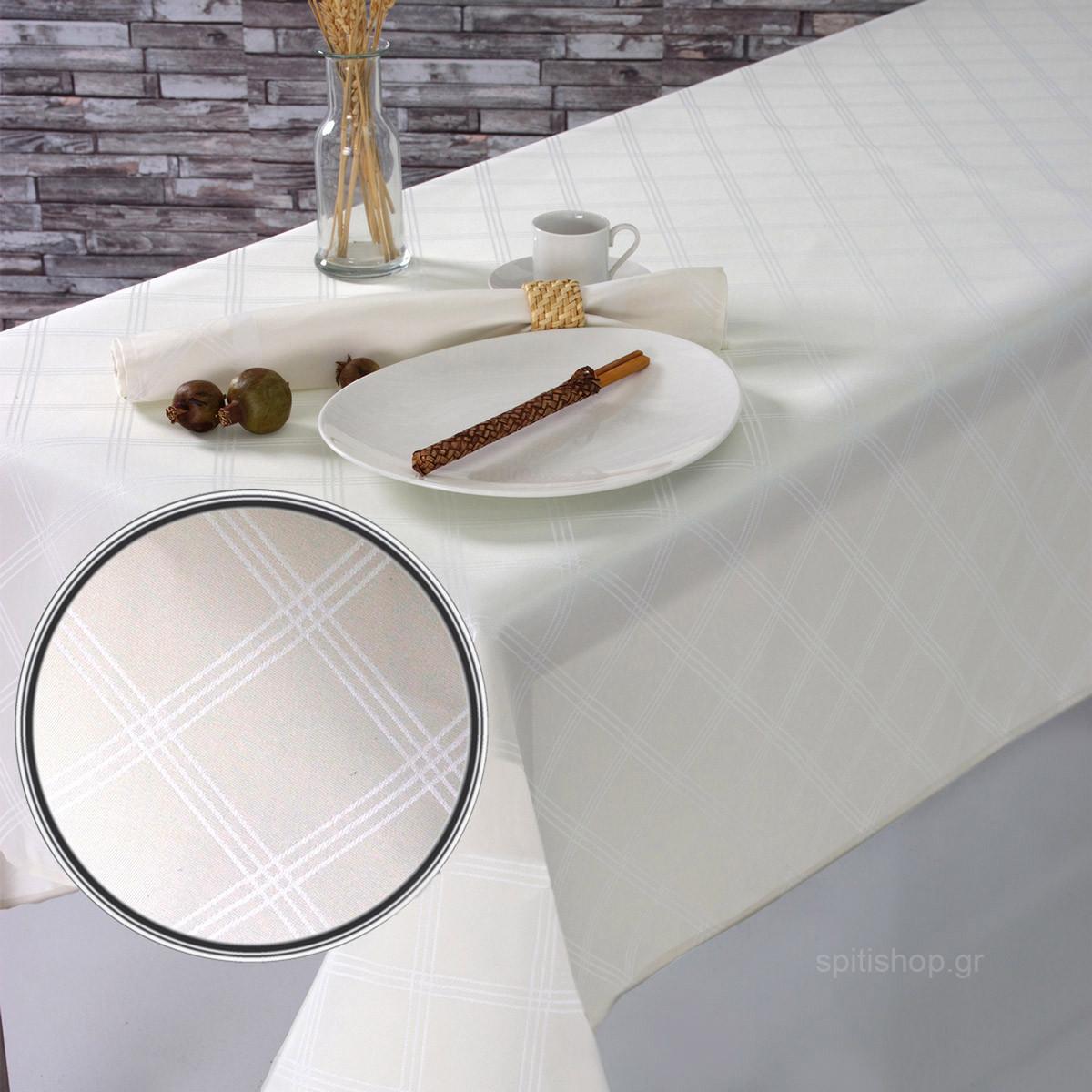 Πετσέτες Φαγητού (Σετ 2τμχ) Sb Home Dine Cream