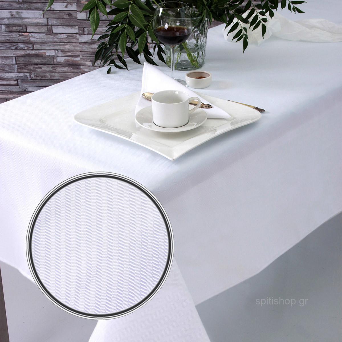 Πετσέτες Φαγητού (Σετ 2τμχ) Sb Home Imprint White