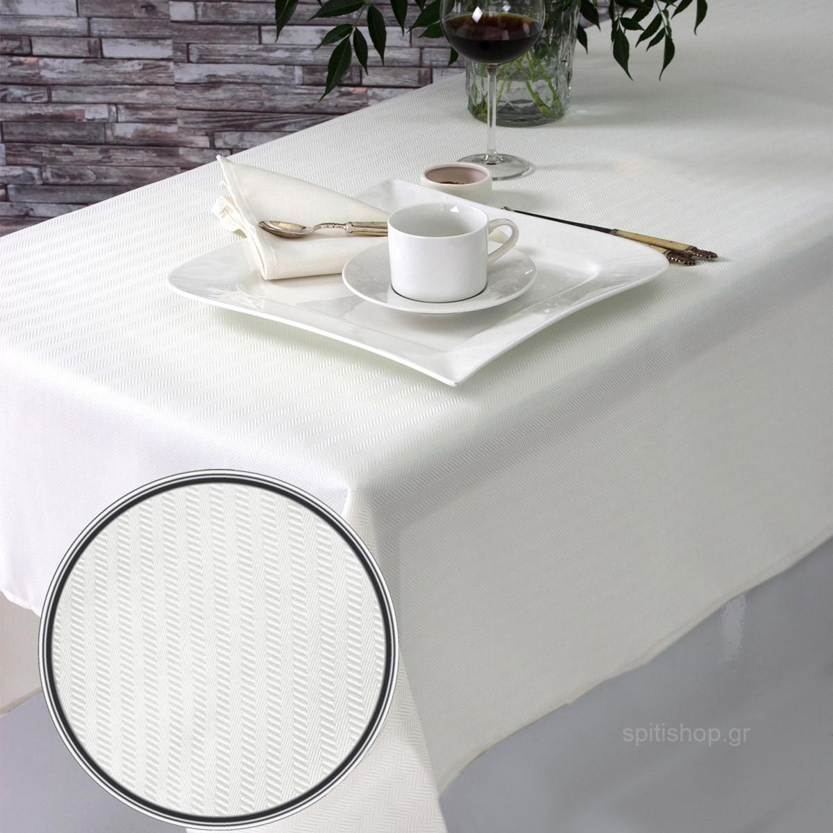 Πετσέτες Φαγητού (Σετ 2τμχ) Sb Home Imprint Cream