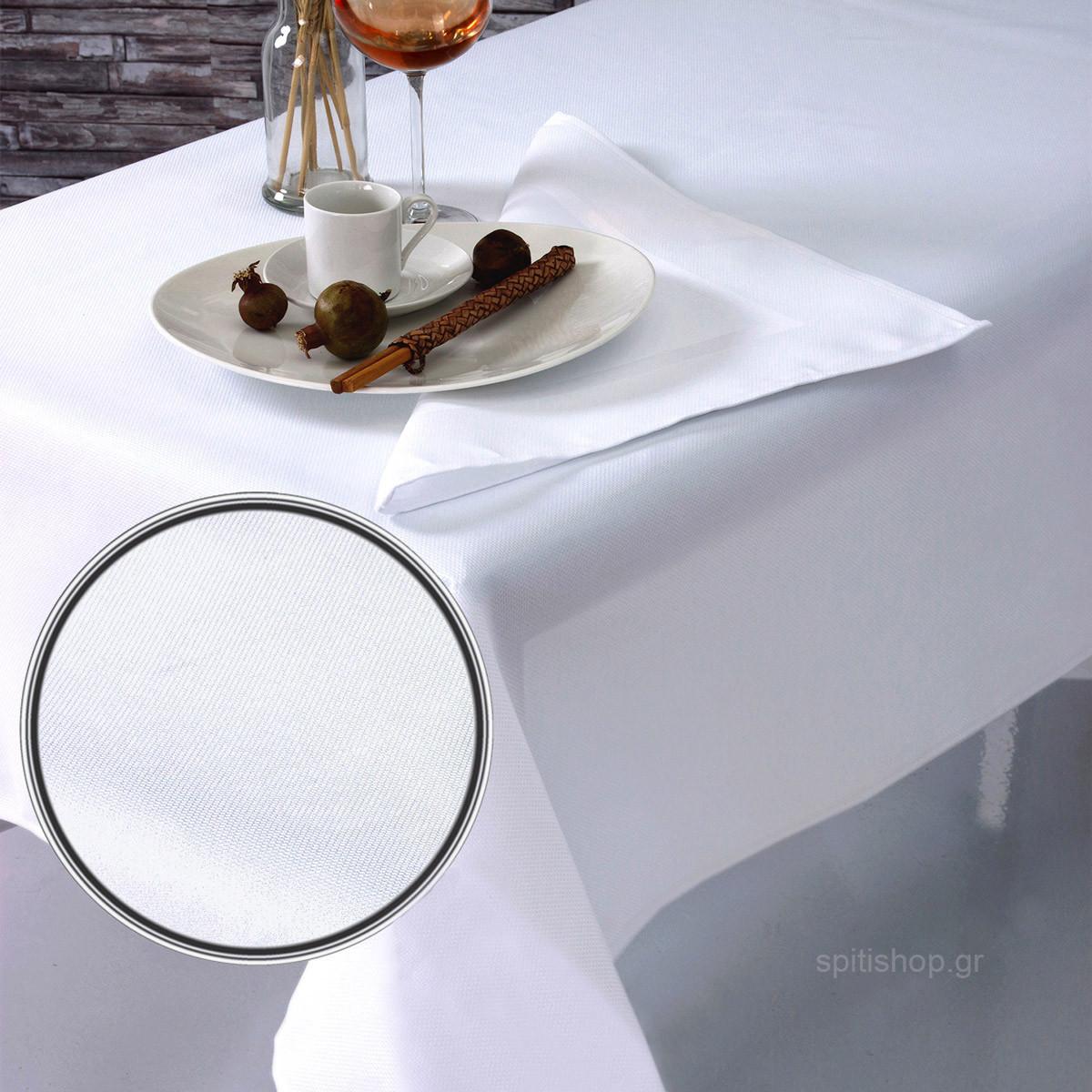 Πετσέτες Φαγητού (Σετ 2τμχ) Sb Home Charm White