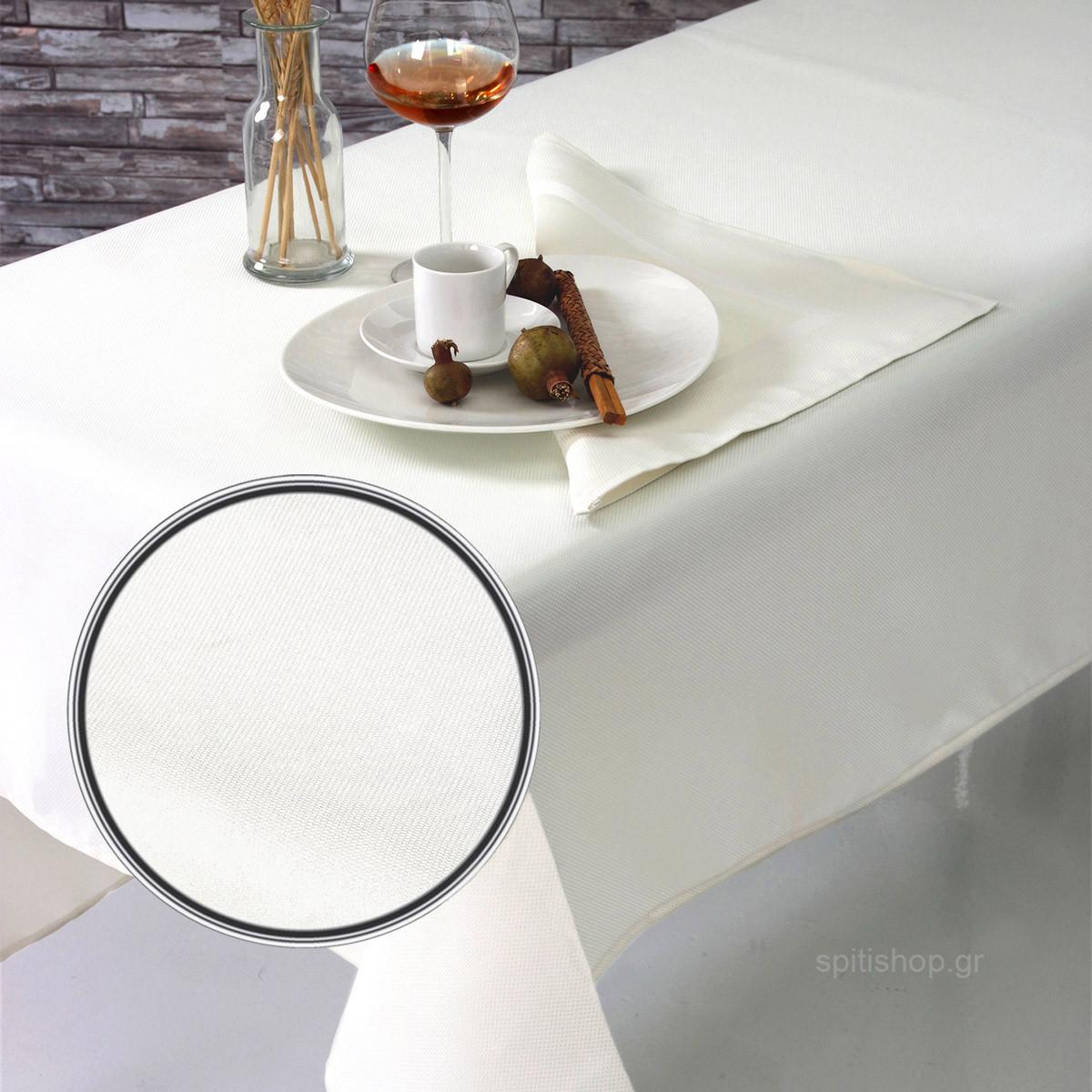 Πετσέτες Φαγητού (Σετ 2τμχ) Sb Home Charm Cream