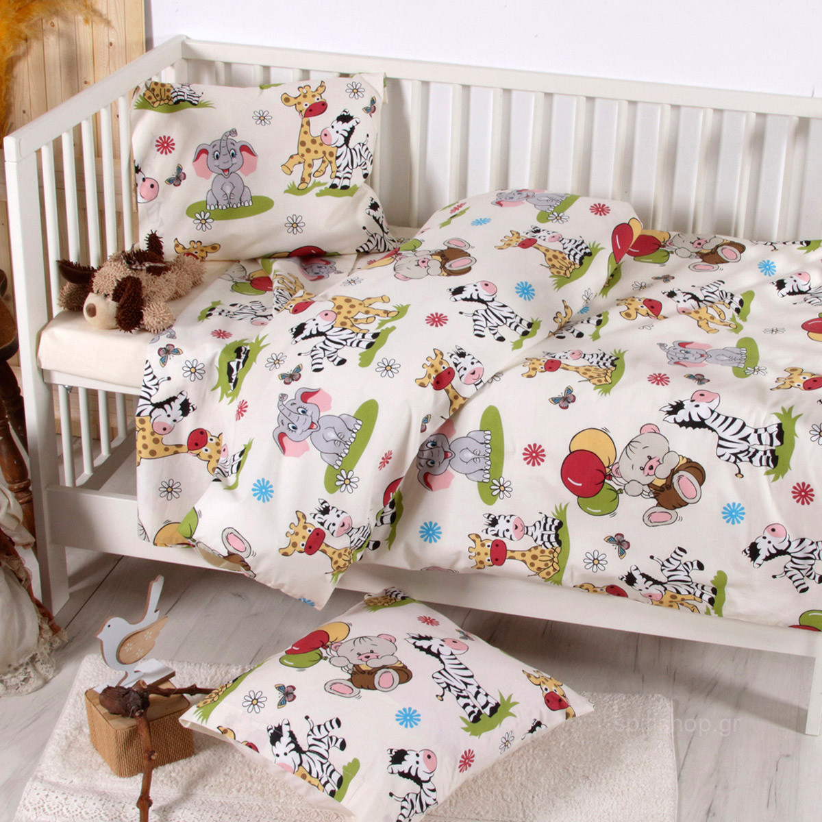 Παπλωματοθήκη Κούνιας (Σετ) Sb Home Baby Kelby