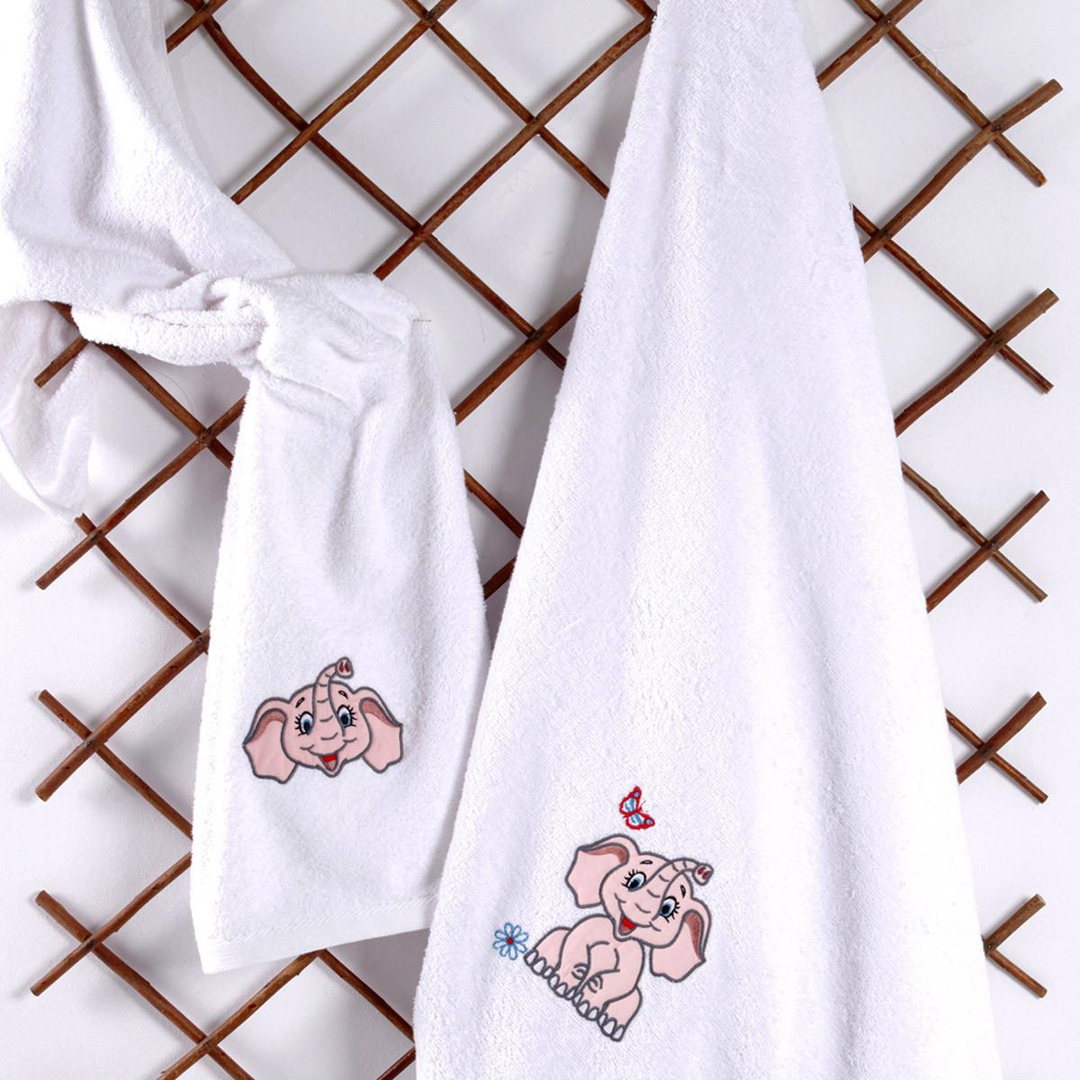 Βρεφικές Πετσέτες (Σετ 2τμχ) Sb Home Baby Dumbo Pink