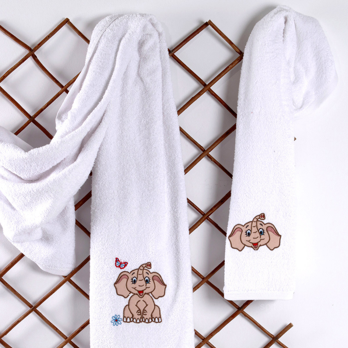 Βρεφικές Πετσέτες (Σετ 2τμχ) Sb Home Baby Dumbo Beige