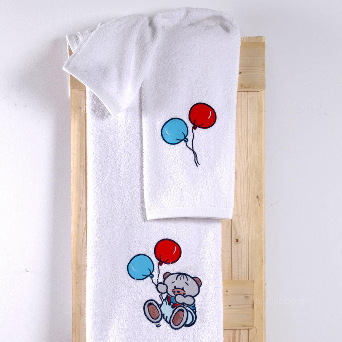 Βρεφικές Πετσέτες (Σετ 2τμχ) Sb Home Baby Arturo Blue