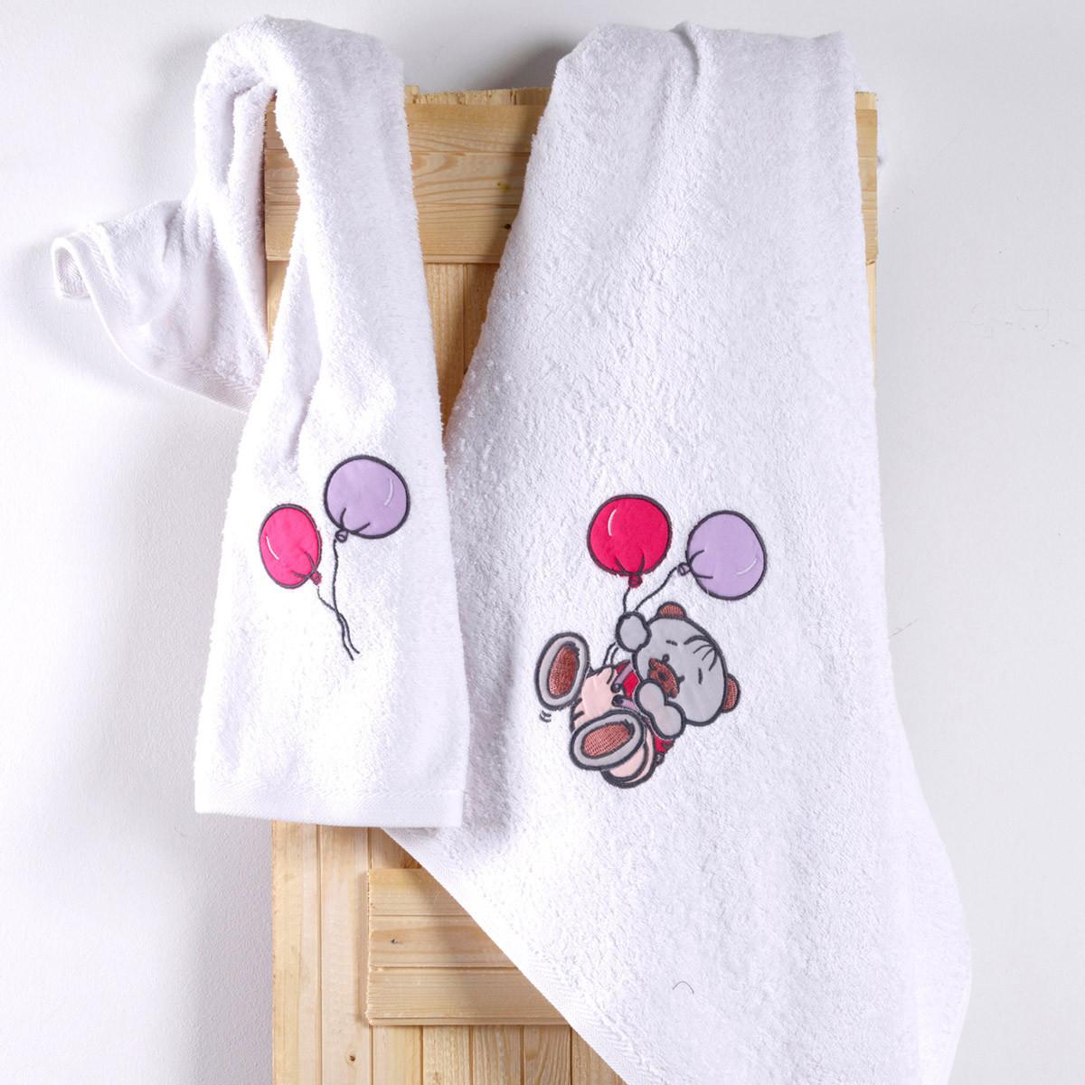 Βρεφικές Πετσέτες (Σετ 2τμχ) Sb Home Baby Arturo Pink