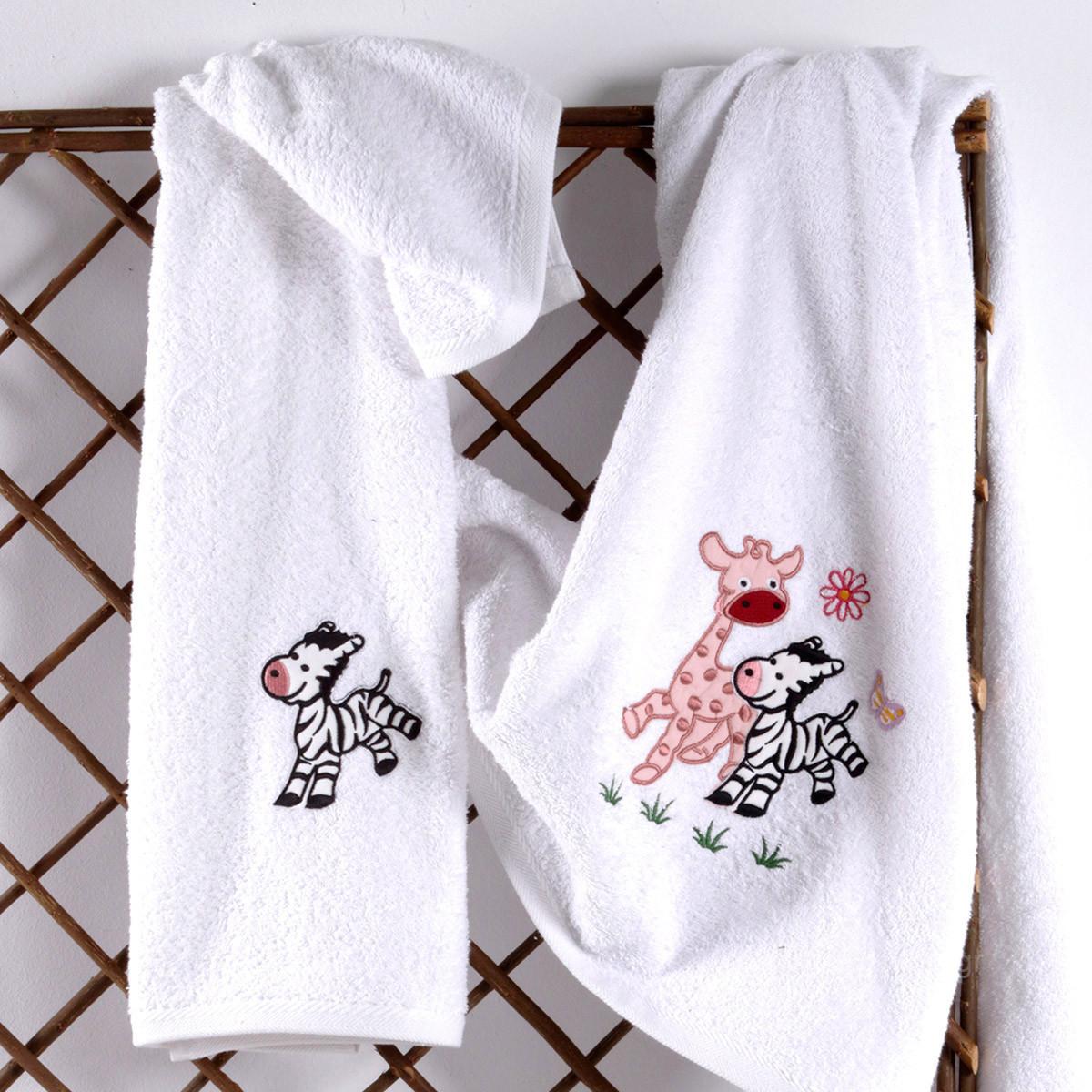 Βρεφικές Πετσέτες (Σετ 2τμχ) Sb Home Baby Olly & Zemo Pink