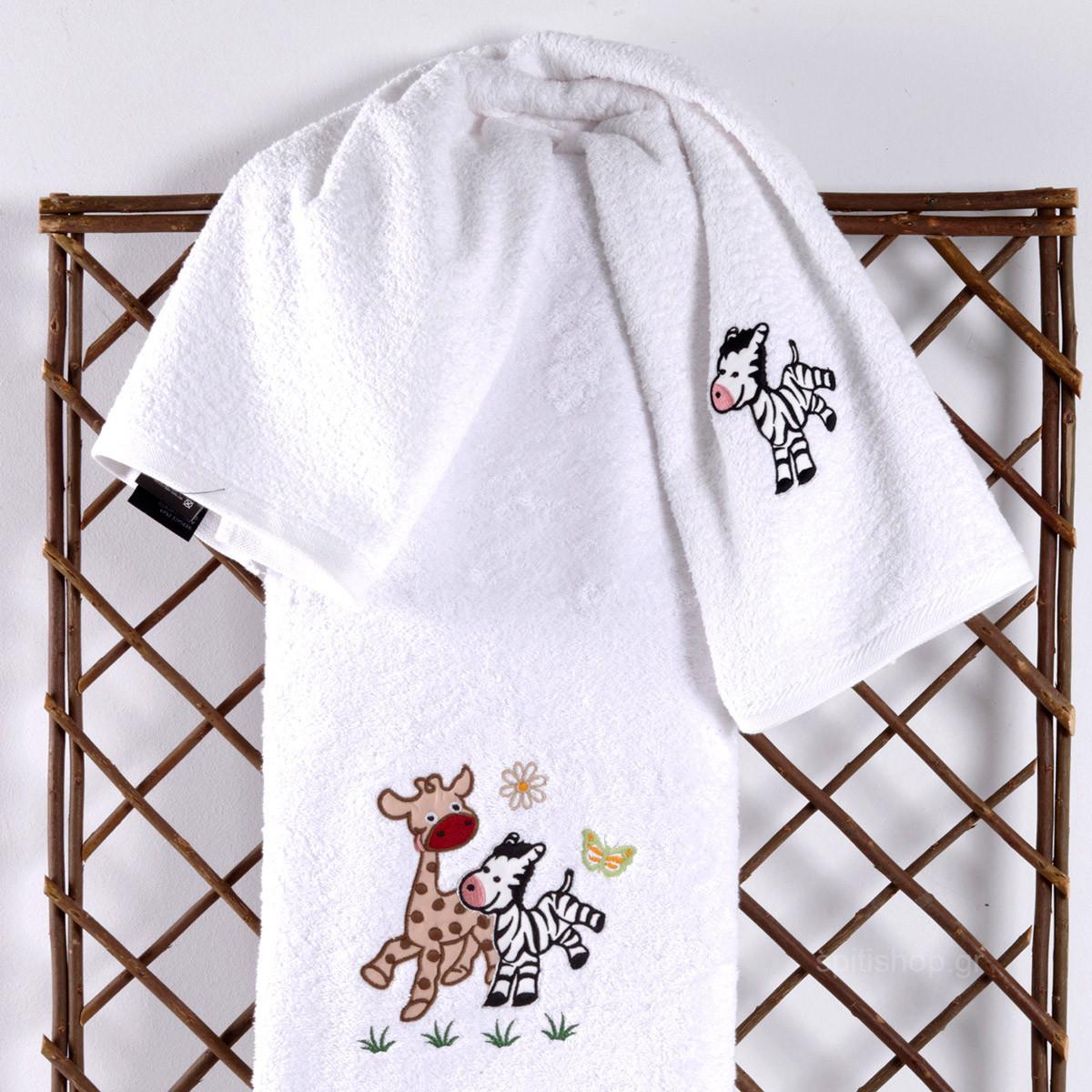 Βρεφικές Πετσέτες (Σετ 2τμχ) Sb Home Baby Olly & Zemo Beige