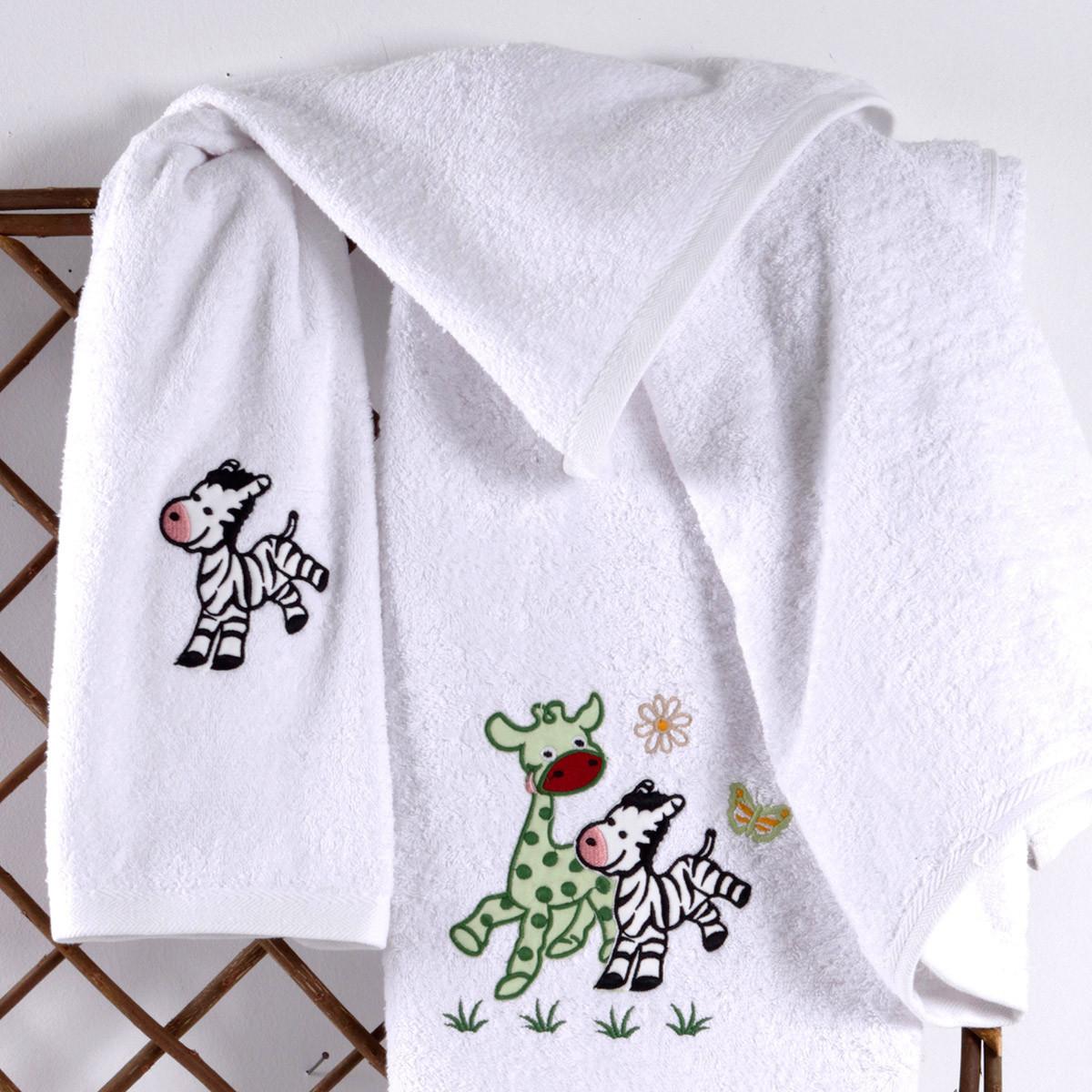Βρεφικές Πετσέτες (Σετ 2τμχ) Sb Home Baby Olly & Zemo Mint
