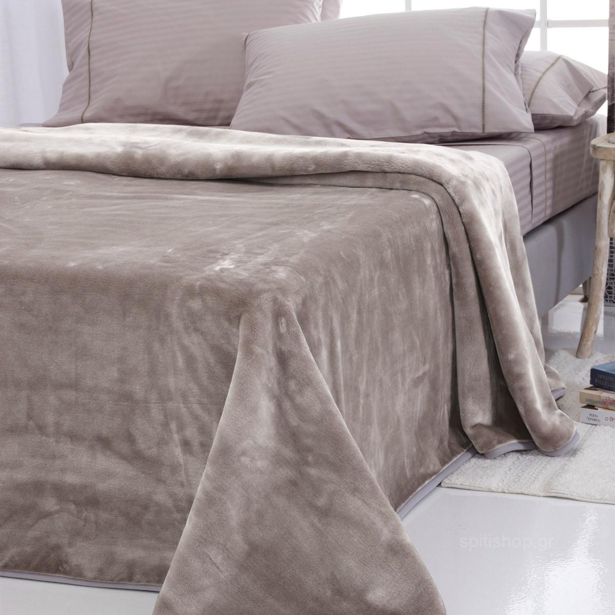 Κουβέρτα Βελουτέ Υπέρδιπλη Sb Home Tyrol