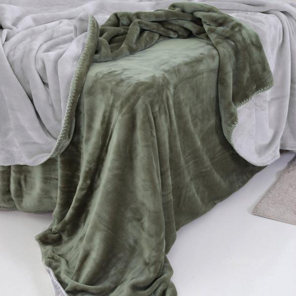 Κουβέρτα Fleece Μονή 2 Όψεων Sb Home Abbracio Grey