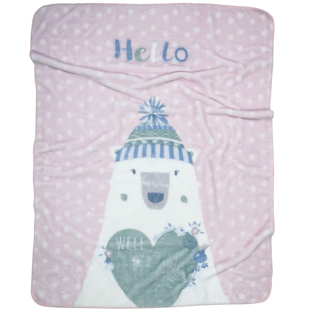 Κουβέρτα Βελουτέ Κούνιας Das Home Blanket Line 6490 home   βρεφικά   κουβέρτες βρεφικές   κουβέρτες βελουτέ