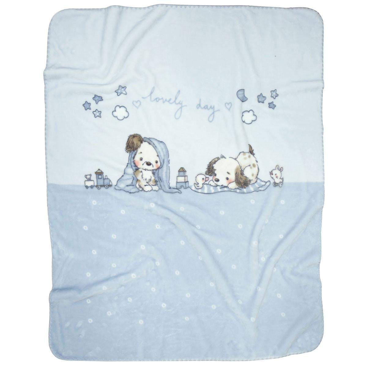 Κουβέρτα Βελουτέ Κούνιας Das Home Blanket Line 6491 home   βρεφικά   κουβέρτες βρεφικές   κουβέρτες βελουτέ