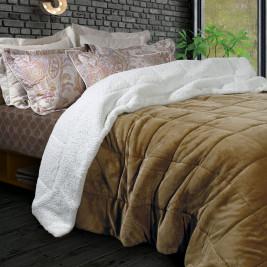 Κουβερτοπάπλωμα Υπέρδιπλο Das Home Blanket Fleece Sherpa 1122
