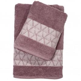 Πετσέτες Μπάνιου (Σετ 3τμχ) Das Home Happy 368