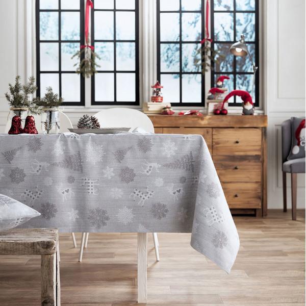 Χριστουγεννιάτικο Τραπεζομάντηλο (135x135) Gofis Home 285/15