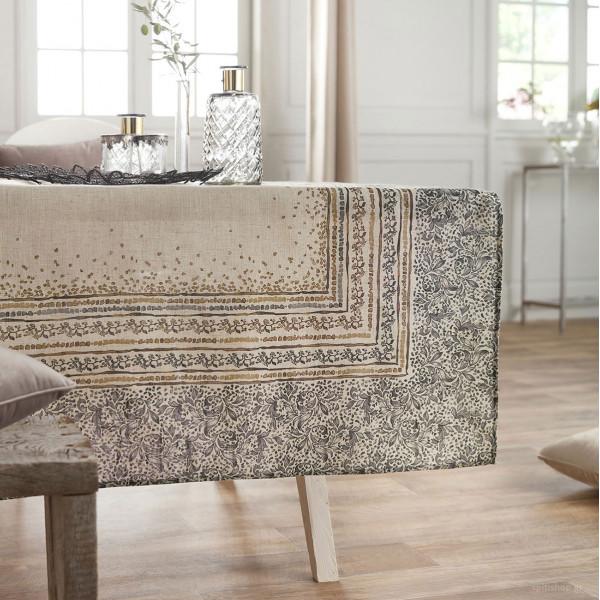 Τραπεζομάντηλο (135x135) Gofis Home Mosaic Gold 357/04