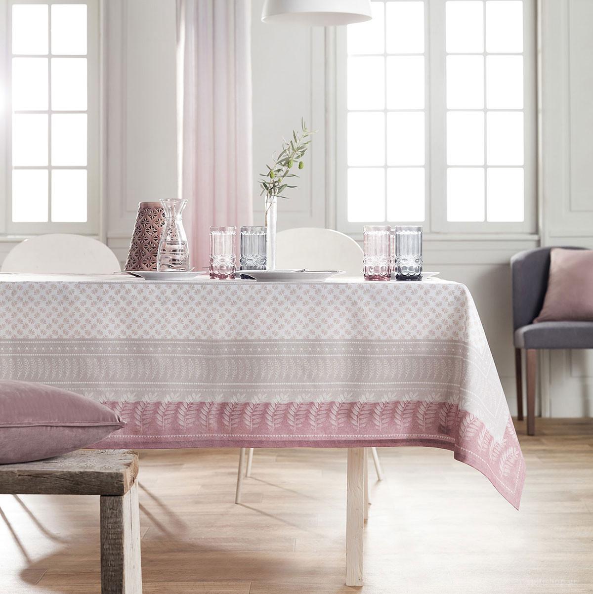 Τραπεζομάντηλο (135×180) Gofis Home Anemie Purple 529/19