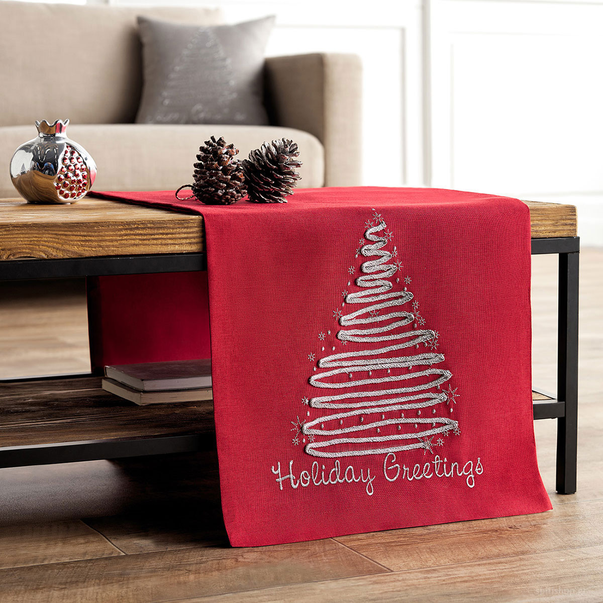 Χριστουγεννιάτικo Σεμέν (40×120) Gofis Home 231/02