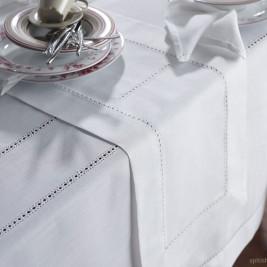 Πετσέτες Φαγητού (Σετ 6τμχ) Gofis Home Hem White 080/16