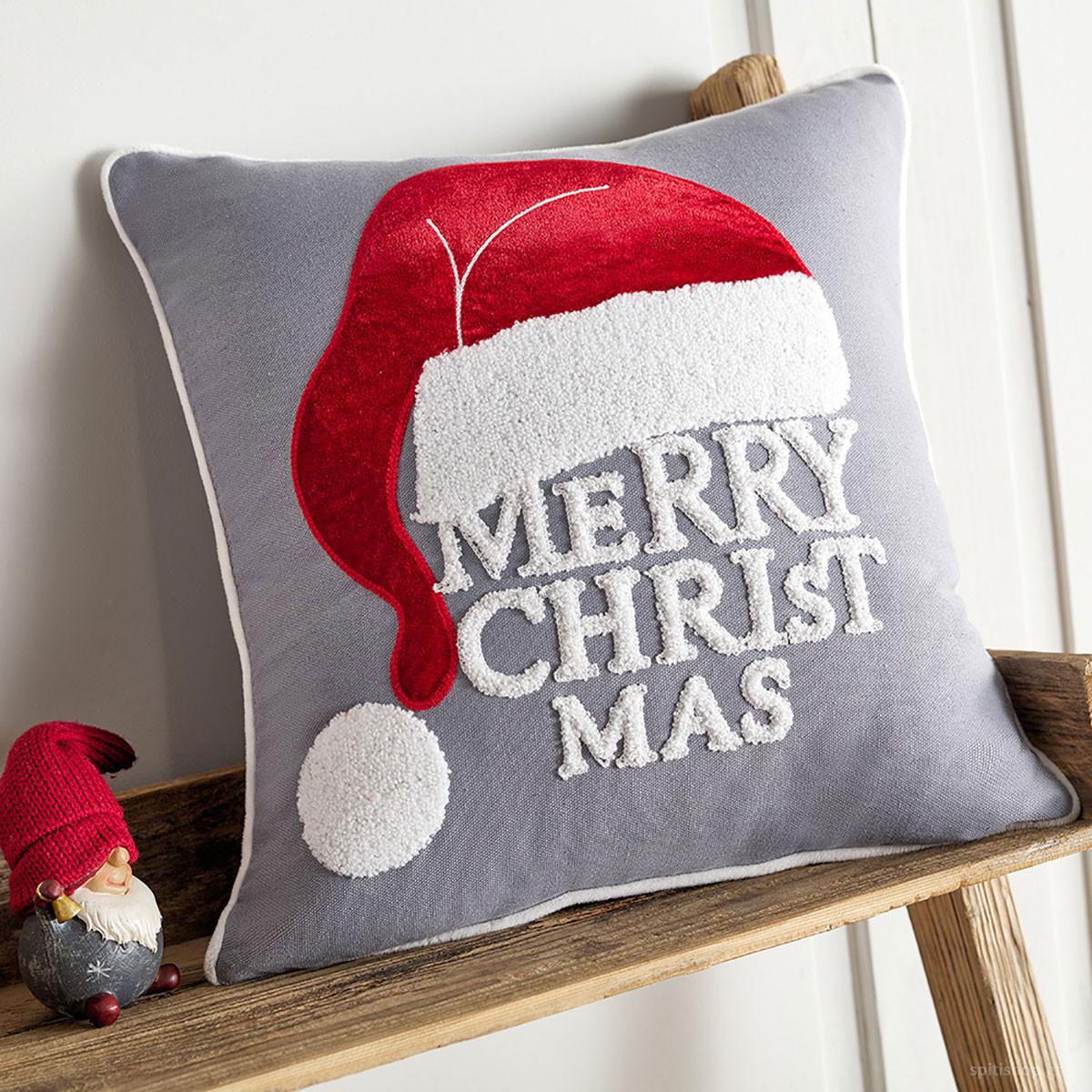 Χριστουγεννιάτικη Μαξιλαροθήκη Gofis Home Santa Hat 795