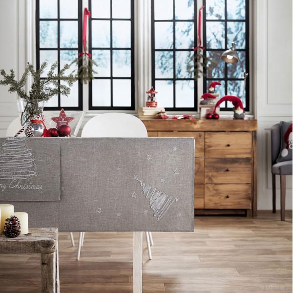 Χριστουγεννιάτικο Τραπεζομάντηλο (135x135) Gofis Home 231/15