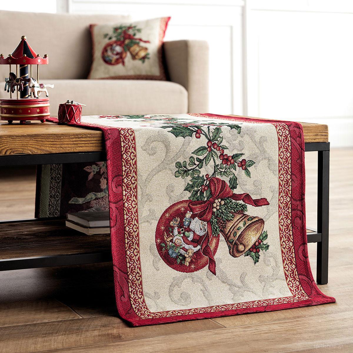 Χριστουγεννιάτικo Σεμέν (40×100) Gofis Home 849