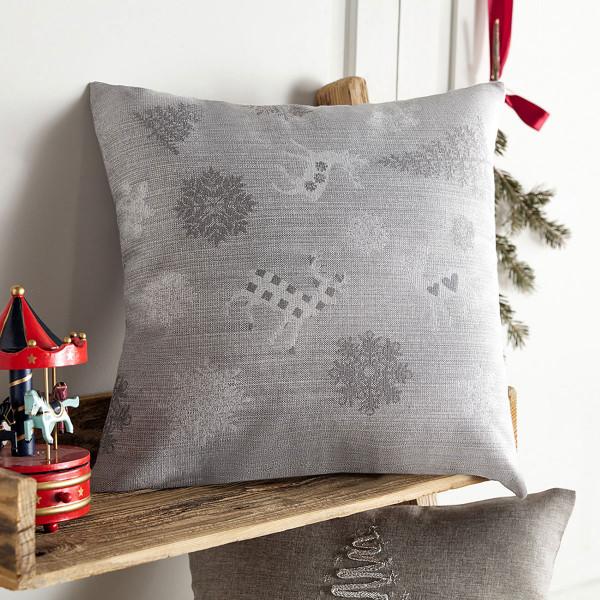 Χριστουγεννιάτικη Μαξιλαροθήκη Gofis Home 285/15