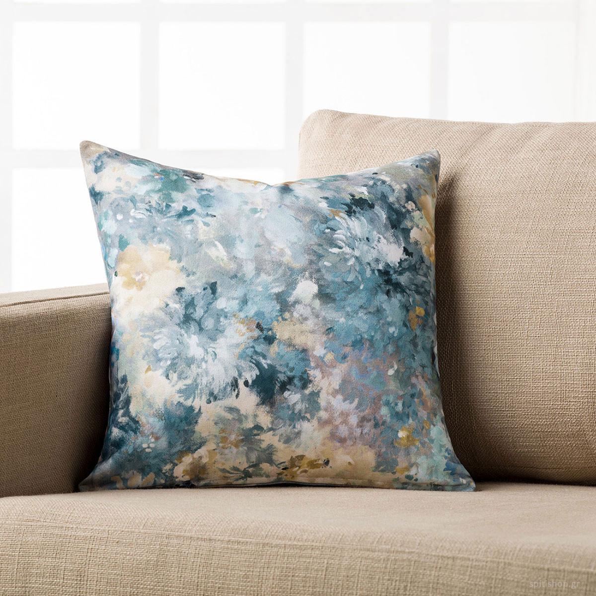 Διακοσμητική Μαξιλαροθήκη Gofis Home Monet 637