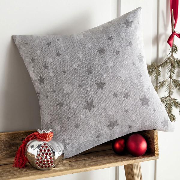 Χριστουγεννιάτικη Μαξιλαροθήκη (43x43) Gofis Home 901/15