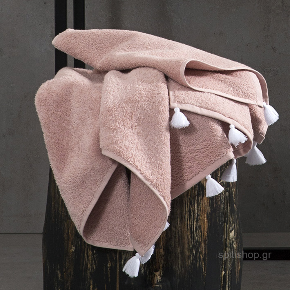 Πετσέτα Προσώπου (50×90) Nima Towels Lavenia Pink