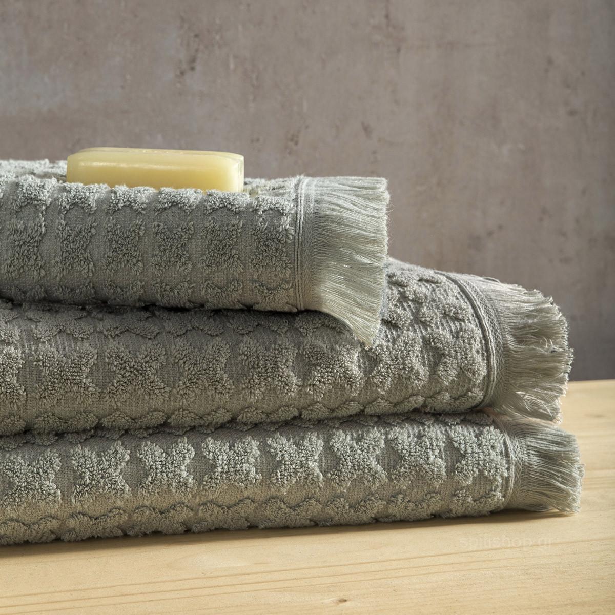 Πετσέτα Προσώπου (50×90) Nima Towels Nuova Light Green