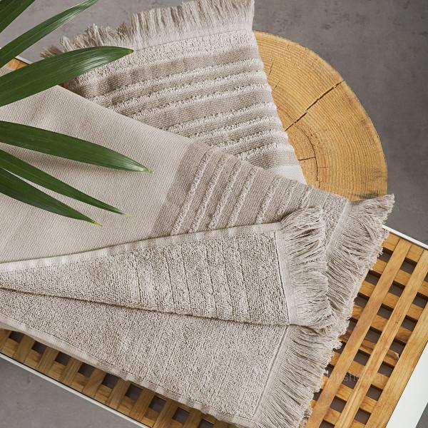 Πετσέτα Προσώπου (50x90) Nima Towels Ray Earth