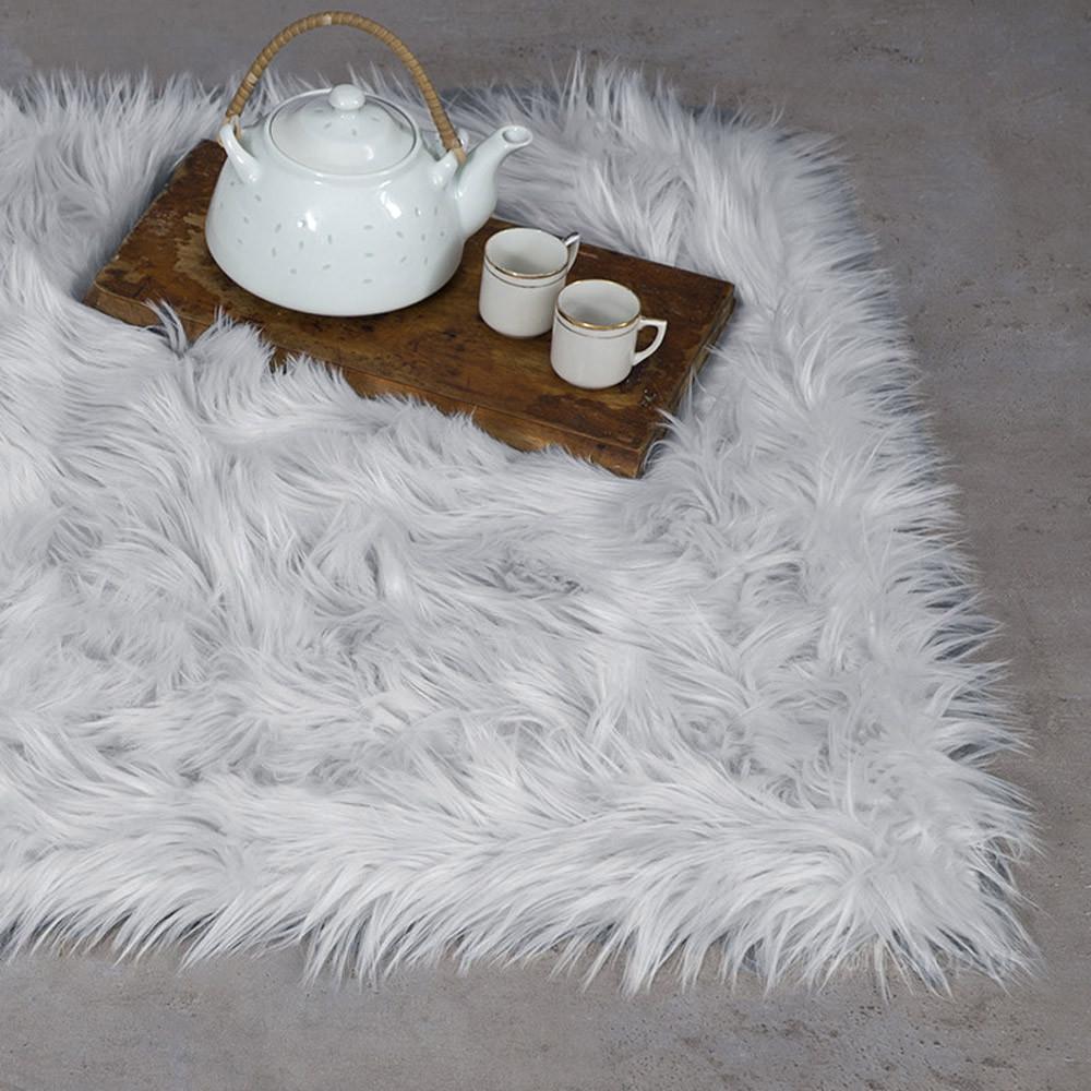 Γούνινο Χαλάκι (60x90) Nima Carpets Fluffy Grey home   χαλιά   πατάκια