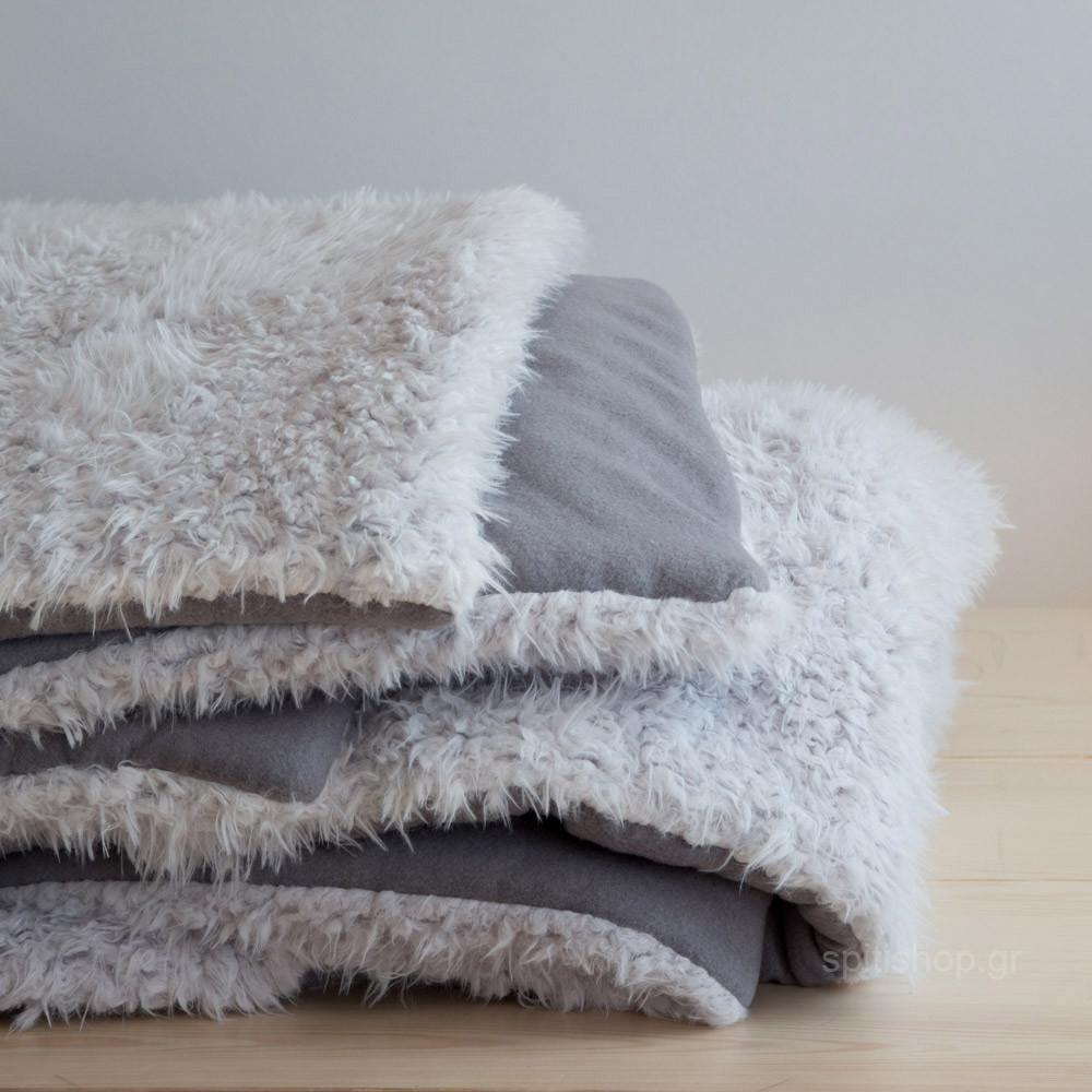 Κουβερτοπάπλωμα Υπέρδιπλο Nima Layers Smooth Grey home   κρεβατοκάμαρα   παπλώματα   κουβερτοπαπλώματα