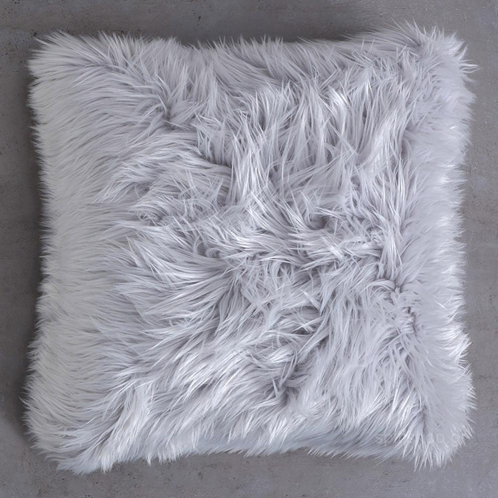 Διακοσμητικό Μαξιλάρι Nima Cushions Fluffy Grey