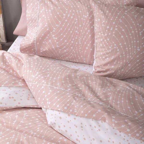 Πάπλωμα Υπέρδιπλο Nima Bed Linen Allure Salmon