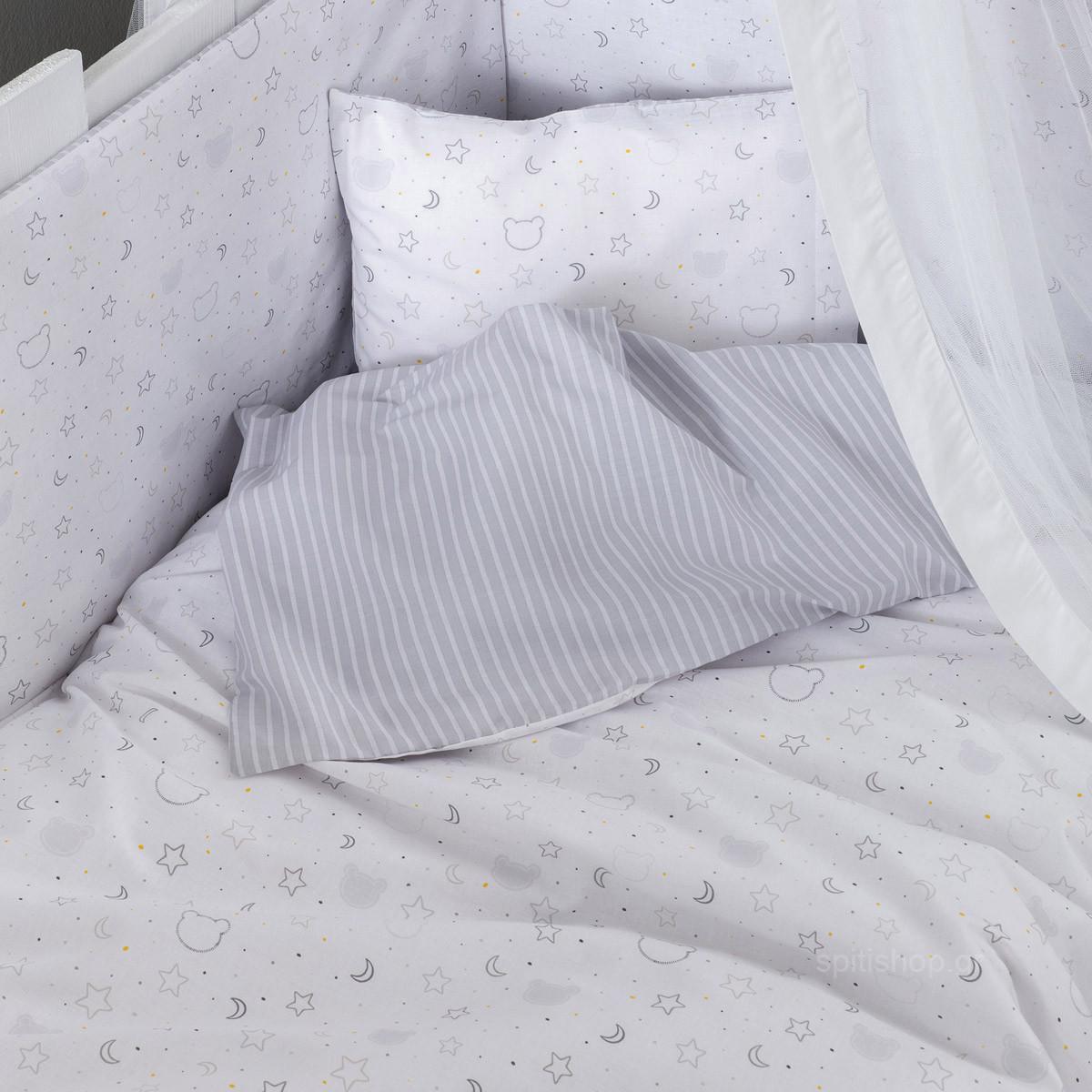 Παπλωματοθήκη Κούνιας (Σετ) Nima Baby Goodnight Mommy