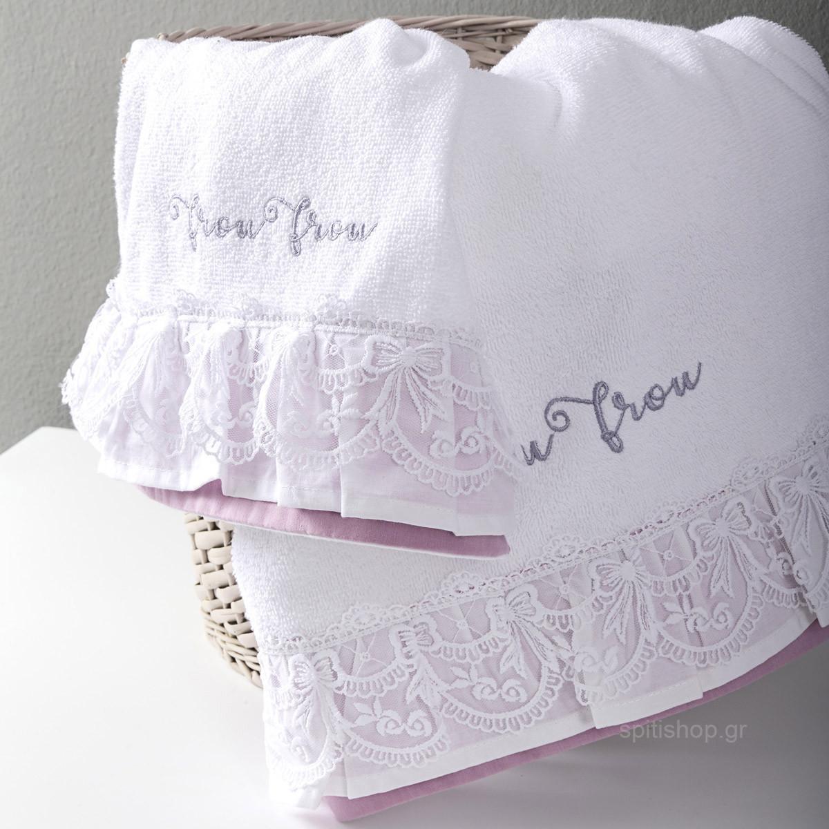 Βρεφικές Πετσέτες (Σετ 2τμχ) Nima Baby Frou Frou