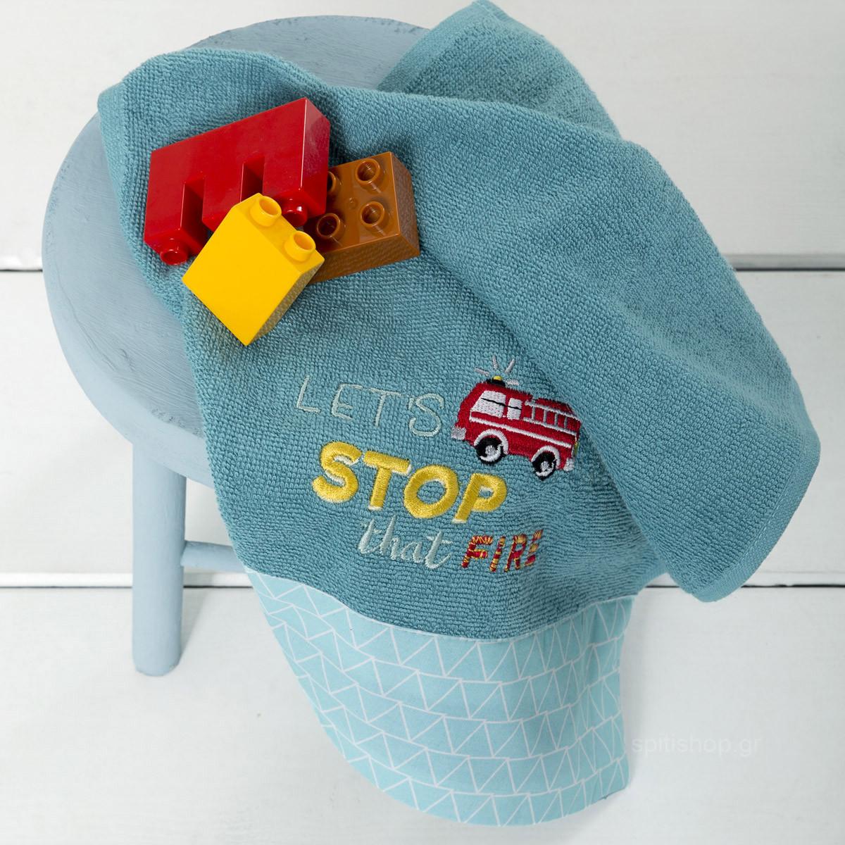 Παιδική Πετσέτα Χεριών (30×50) Nima Kids Fireman