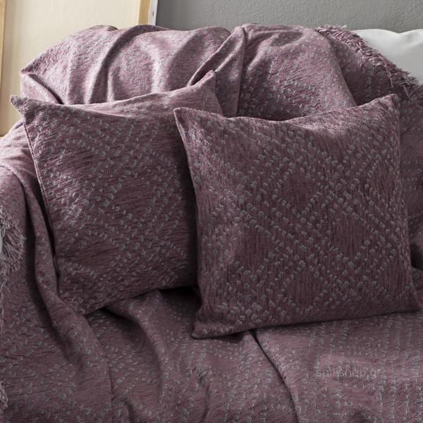Διακοσμητικό Μαξιλάρι (45x45) Nima Throws Figure Lilac