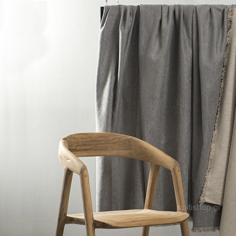 Ριχτάρι Διθέσιου (180×240) Nima Throws Lucid Grey