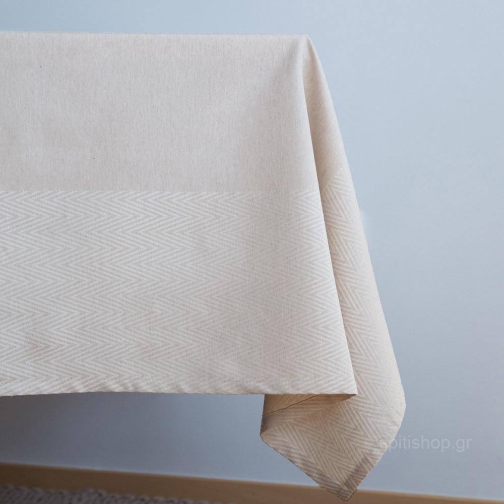 Τραπεζομάντηλο (165×190) Nima Table Linen Vogue Beige