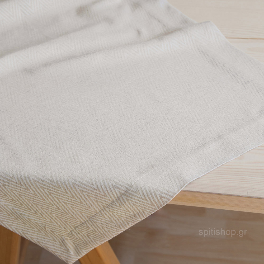 Τραβέρσα Nima Table Linen Vogue Beige